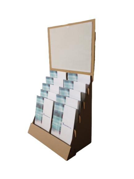 A4パンフレット用卓上什器
